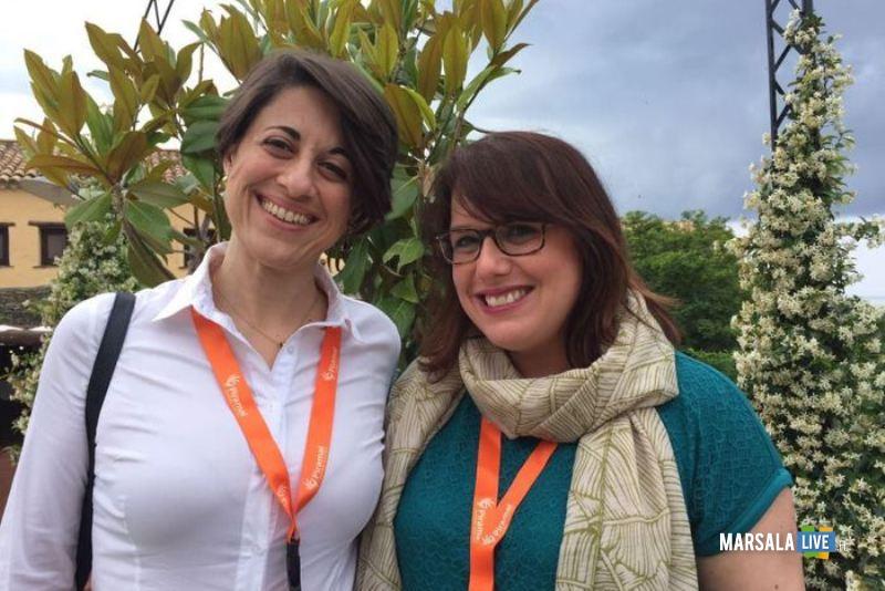 Silvia Grimaldi e la neurologa Chiara Cupidi
