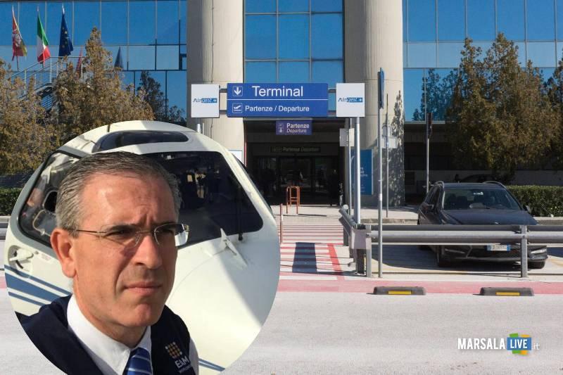 aeroporto Trapani Birgi incontro con assessore infrastrutture Marco Falcone
