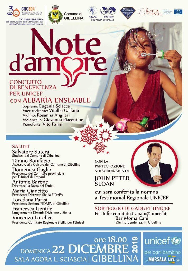 concerto di beneficenza Unicef Note d'Amore (1)