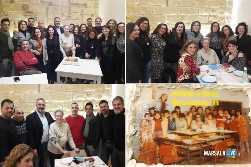 dopo 35 anni, sezione B scuola elementare Amabilina Marsala