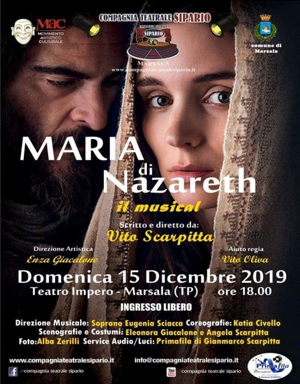 maria di nazareth il musical, marsala