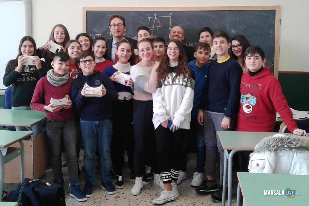 2A I.C. Mario Nuccio Marsala, progetto Imparo con la realtà virtuale