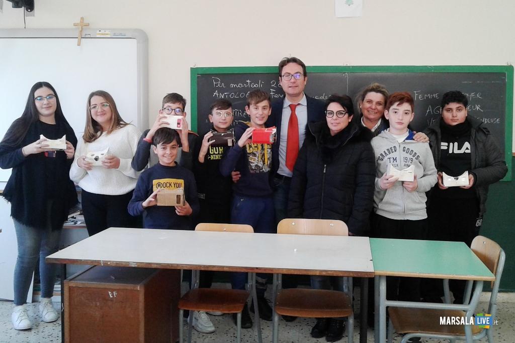 2C I.C. Mario Nuccio Marsala, progetto Imparo con la realtà virtuale