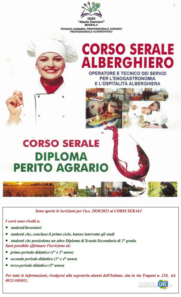 Corsi serali, diploma triennale Agrario, Alberghiero (1)
