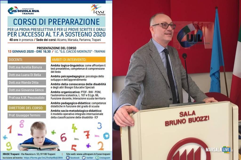Corso di preparazione al TFA Sostegno 2020, uil scuola