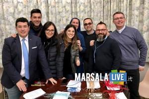 Francesca Messina con l'equipe dell'ufficio ( la seconda da sinistra)
