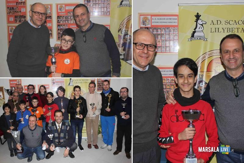 Giuseppe Salvato Campione Assoluto della Provincia di scacchi
