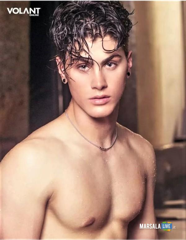 Il più bello d'Italia, il giovane Filippo Gargano, partanna