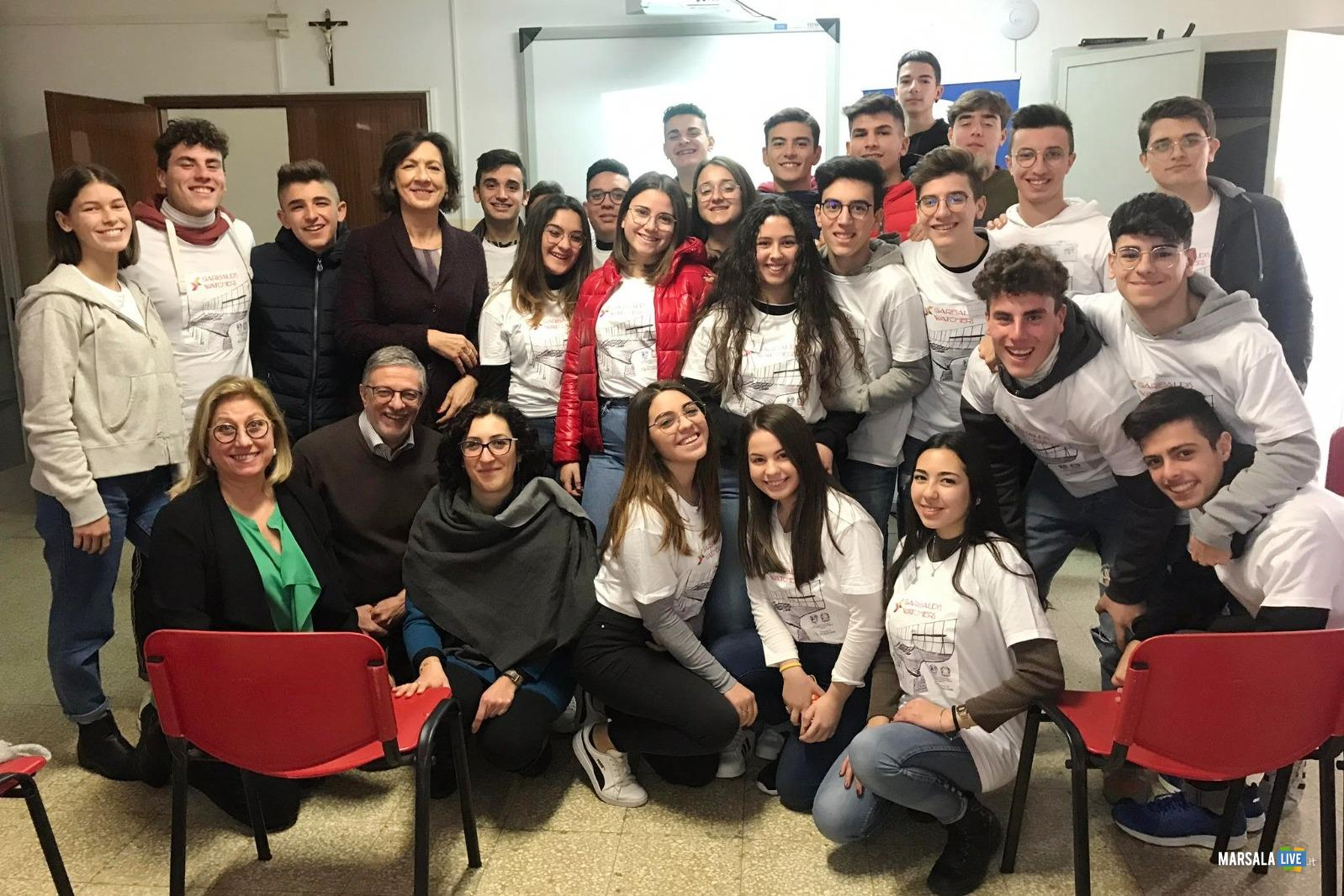 Itet Garibaldi Marsala, progetto A Scuola di Open Coesione