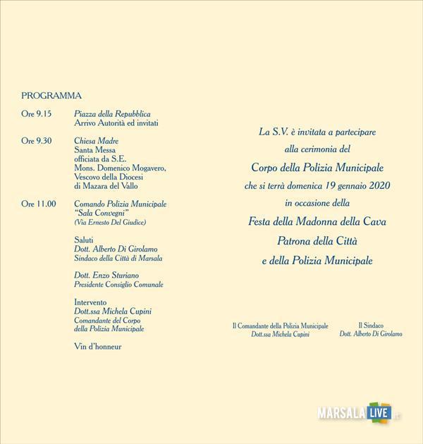 Marsala, domenica 19 gennaio Madona della Cava (3)