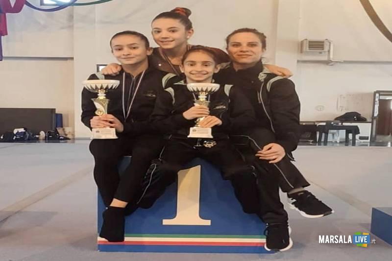 Marsala gym lab oro e argento alla prima di campionato