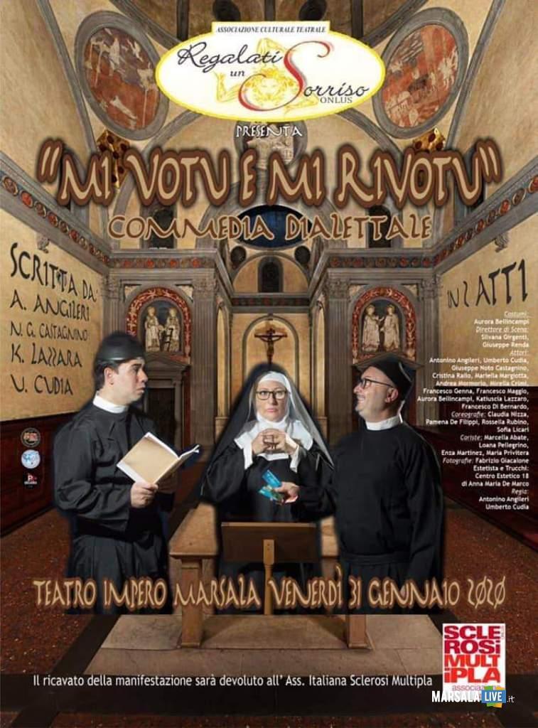 Mi votu e mi rivotu, Teatro Impero Marsala, Regalati un Sorriso (2)