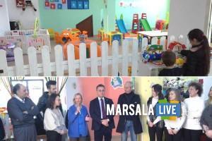 Operativo il micronido di via Mazara - Marsala