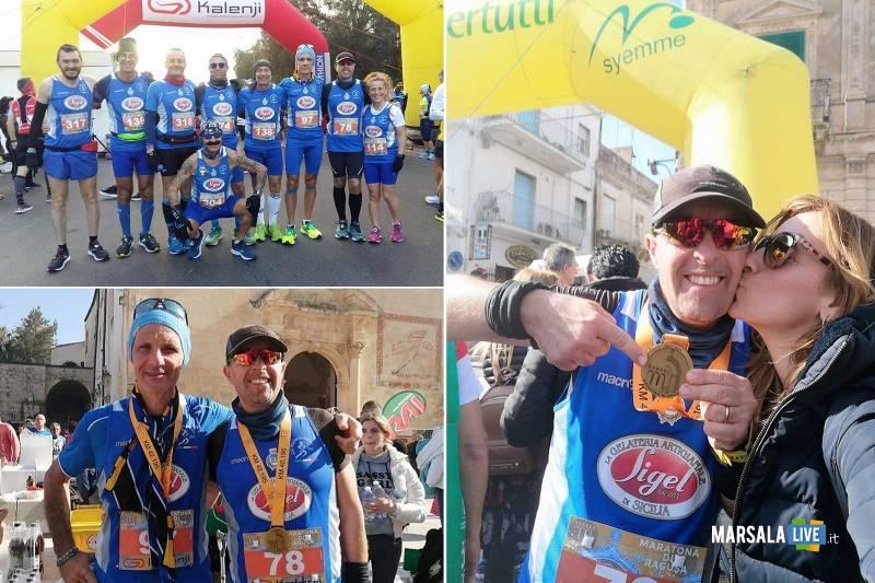 Polisportiva Marsala Doc alla Maratona di Ragusa