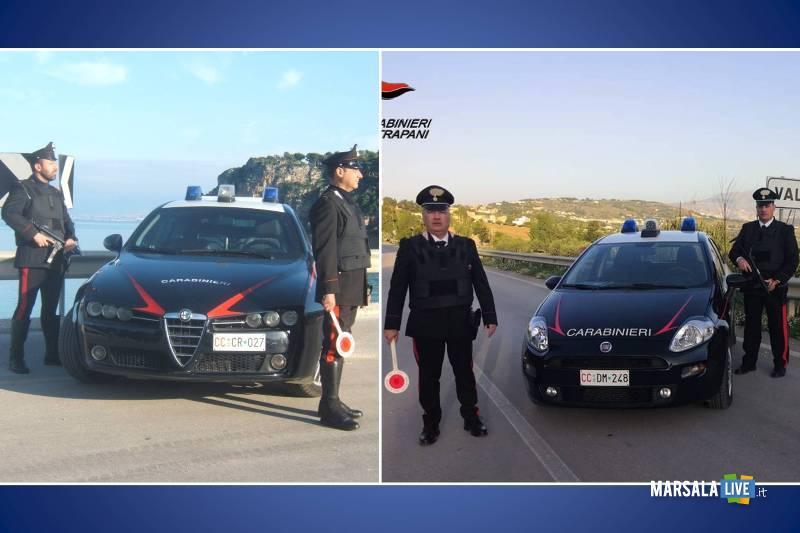 carabinieri, alcamo e valderice
