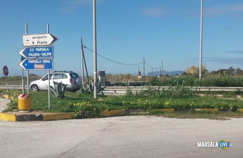 degrado delle vie d'accesso a Birgi aeroporto (1)