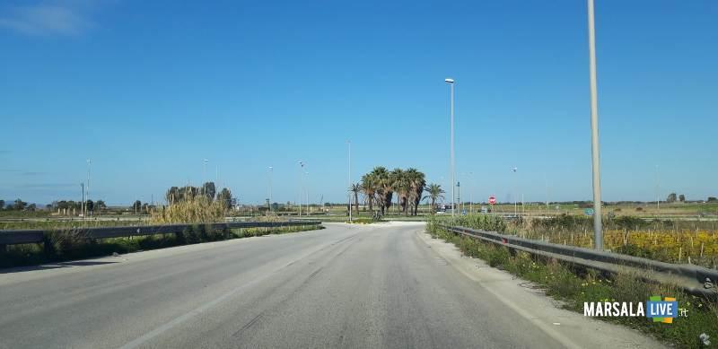 degrado delle vie d'accesso a Birgi aeroporto (2)