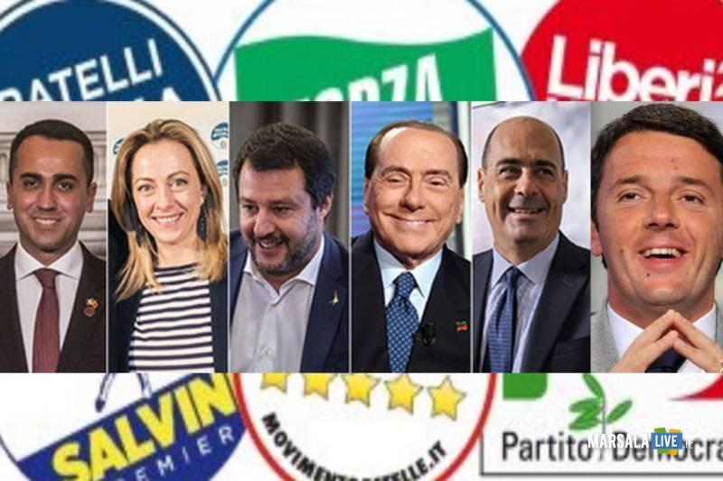 partiti italia voto leader