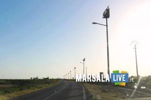 pubblica illuminazione strade, marsala