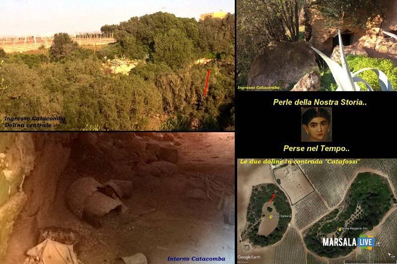 tre misteriose doline catafossi a Mazara del Vallo
