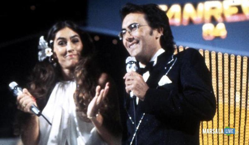 Al Bano e Romina Power partecipano al Festival di Sanremo 1984. ANSA/OLDPIX