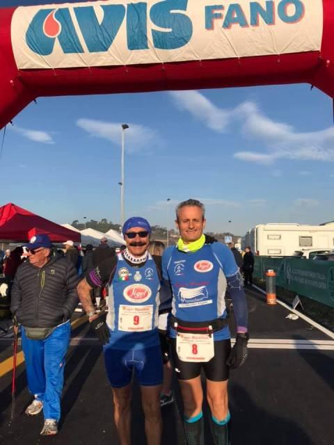 - Atl. - Michele D'Errico e Damiano Ardagna alla Maratona di Fano
