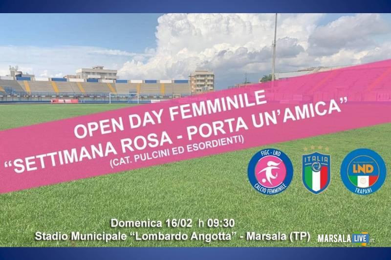 Calcio Femminile Marsala, Open Day e Finale di Coppa