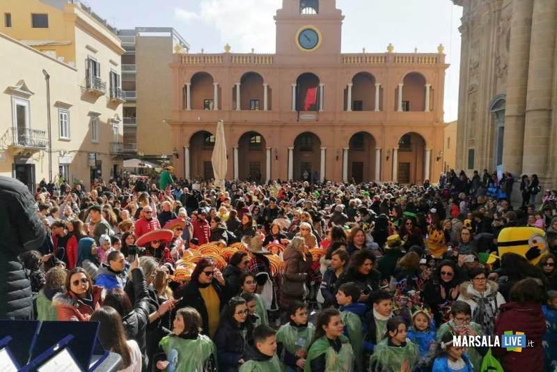 Carnevale delle Scuole a Marsala