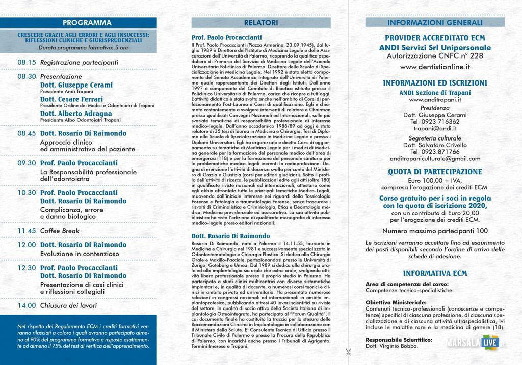 Corso aggiornamento Odontoiatri Andi Ordine dei Medici Trapani (2)