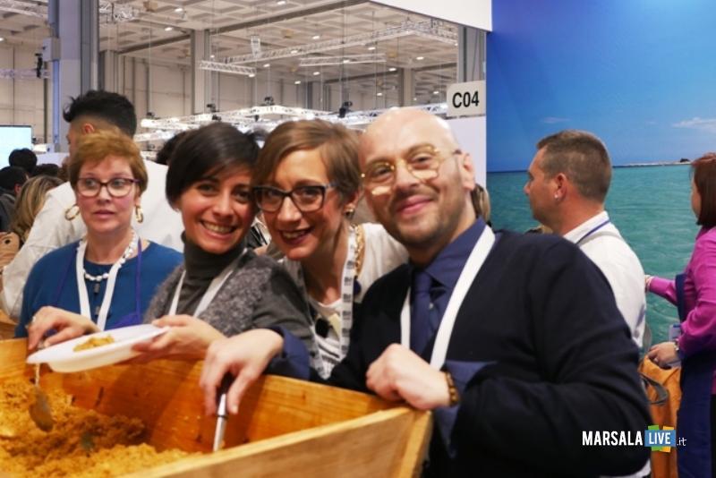 La degustazione di cous cous alla Bit 2019