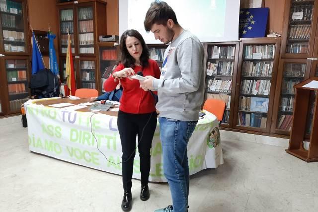 Liceo Classico Giovanni XXIII Marsala, cyberbullismo contro le violenze (11)