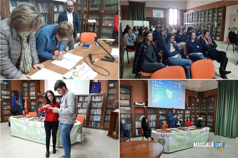 Liceo Classico Giovanni XXIII Marsala, cyberbullismo contro le violenze