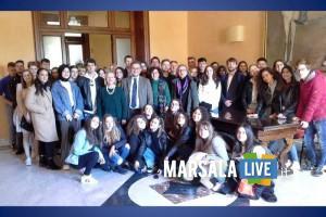Marsala, studenti Erasmus a Palazzo Municipale
