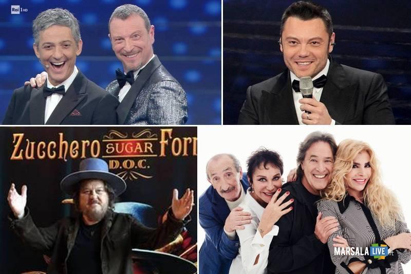 Sanremo 2020 seconda serata, ricchi e poveri