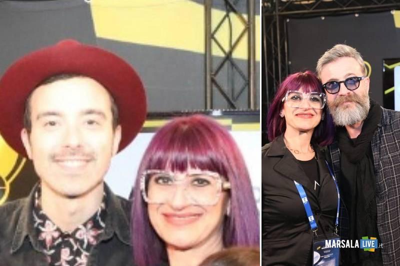 Sanremo, hairstylist marsalese Angela Palumbo