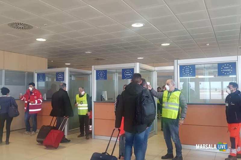 coronavirus aeroporto trapani birgi (2)
