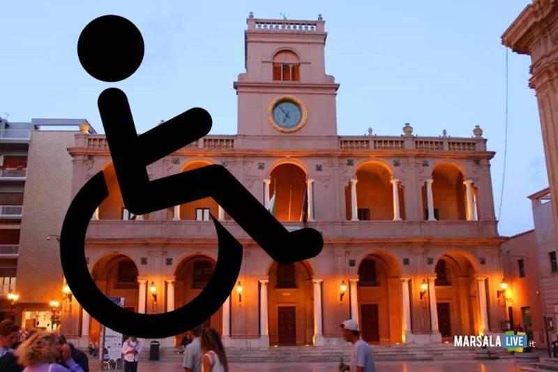 palazzo vii aprile marsala, disabilità