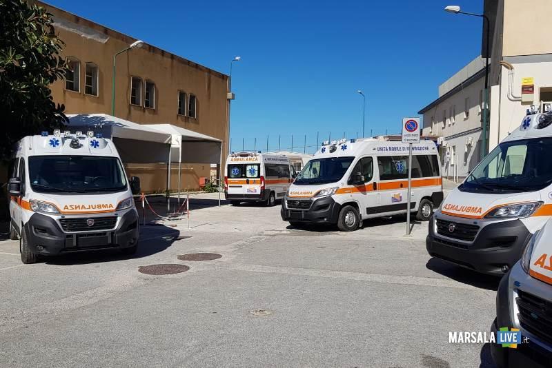 parco ambulanze tp