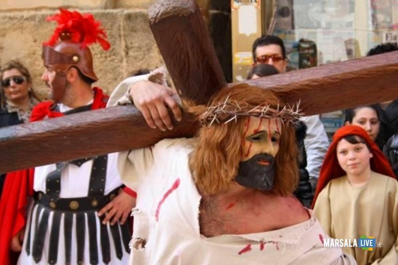 rappresentazione processione giovedì santo marsala