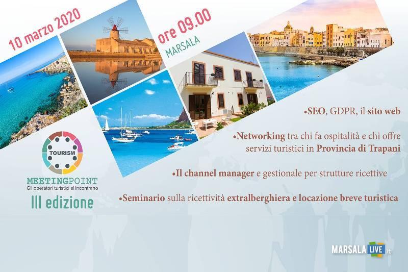 Marsala, terza edizione del Tourism Meeting Point