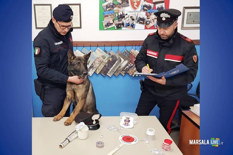 droga, carabinieri Trapani