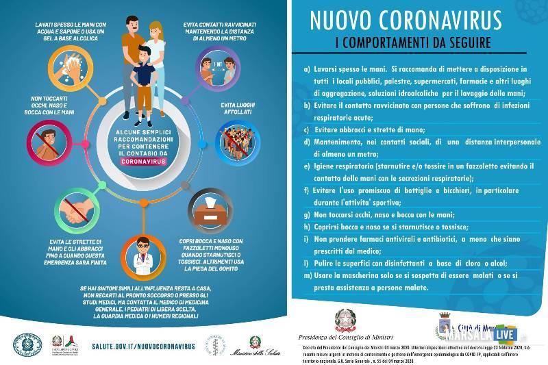 nuovo coronavirus marsala
