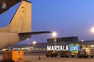 Coronavirus, Sicilia carico di materiale sanitario Aeronautica Militare