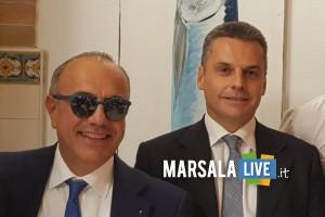 Il Presidente del Distretto della Pesca, Nino Carlino, e l'Assessore Regionale per la Pesca e l'Agricoltura, Edy Battaglia (1)