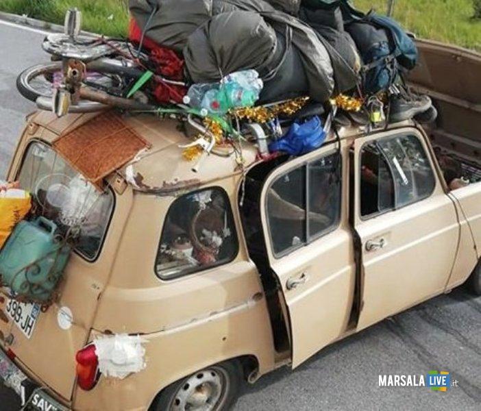 Ragazzi della Renault 4 a Mazzarino (1)