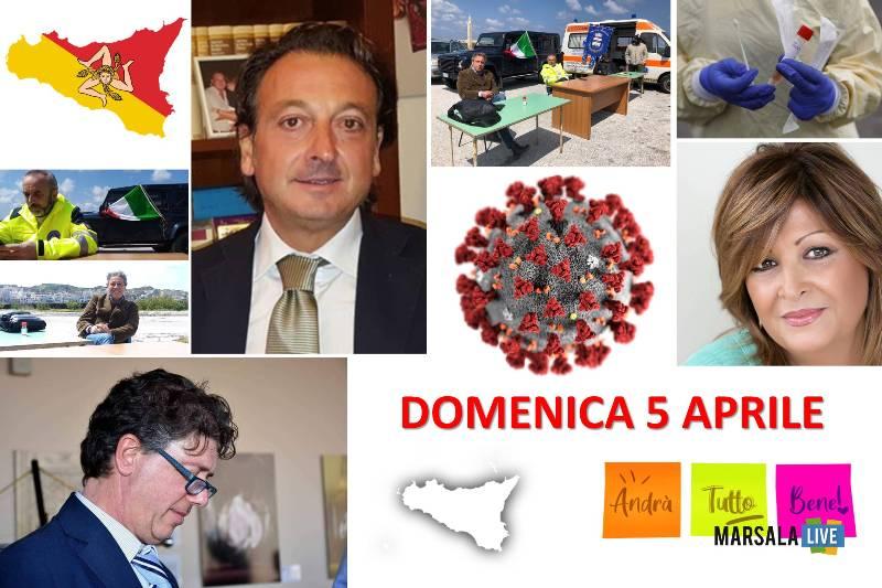comunicati domenica 5 aprile - CORONAVIRUS SICILIA