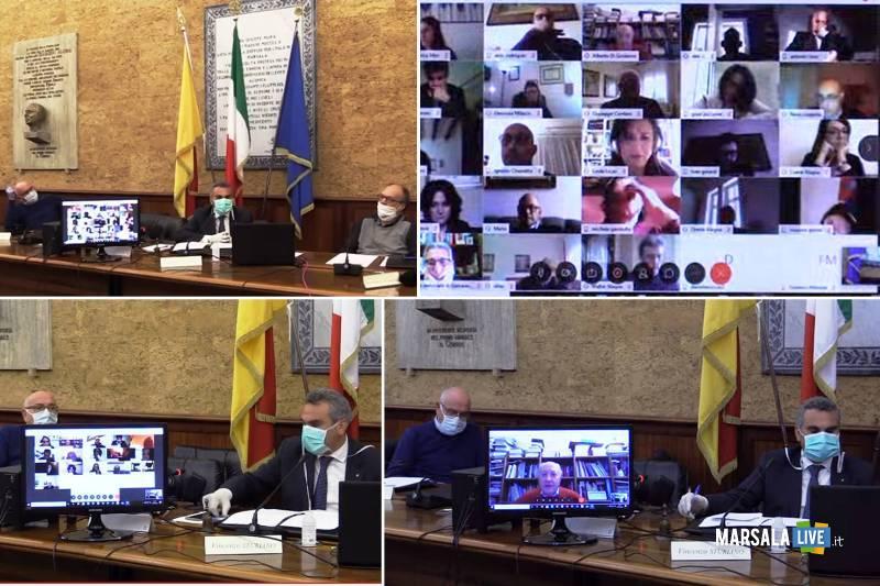 consiglio comunale marsala in video conferenza coronavirus