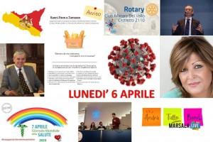 coronavirus sicilia 2020, comunicati lunedì 6 aprile 2020