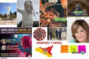 coronavirus sicilia 2020, comunicati martedì 7 aprile 2020