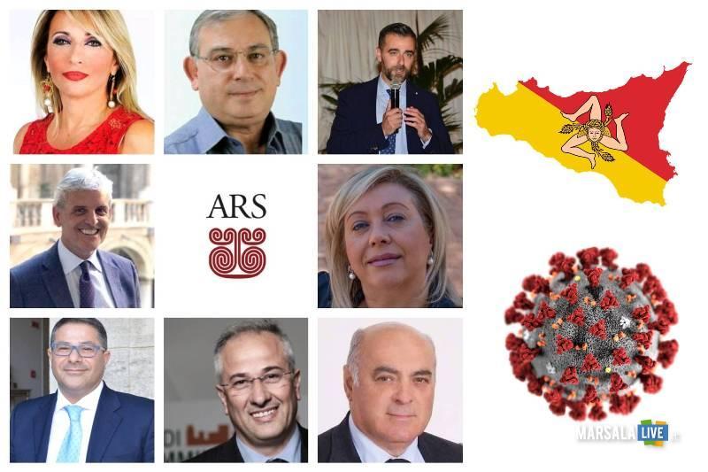 deputati ars, covid 19 sicilia 2020